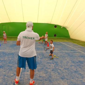 zajęcia w tenisa z trenerem
